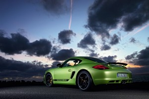 porsche cayman r green wallpaper