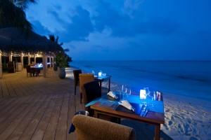 romantic beach evening