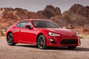 scion frs red
