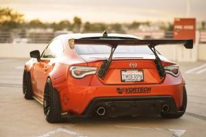 scion orange rear