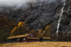 stavanger waterfalls nature beautiful