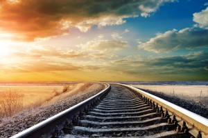 sunrise pictures railroad