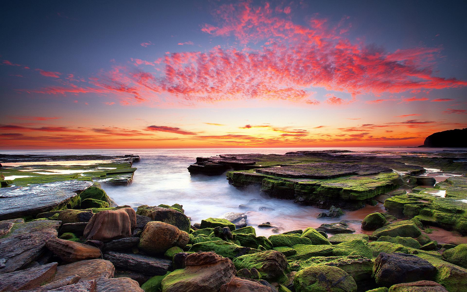 sunset coastal - HD Desktop Wallpapers | 4k HD