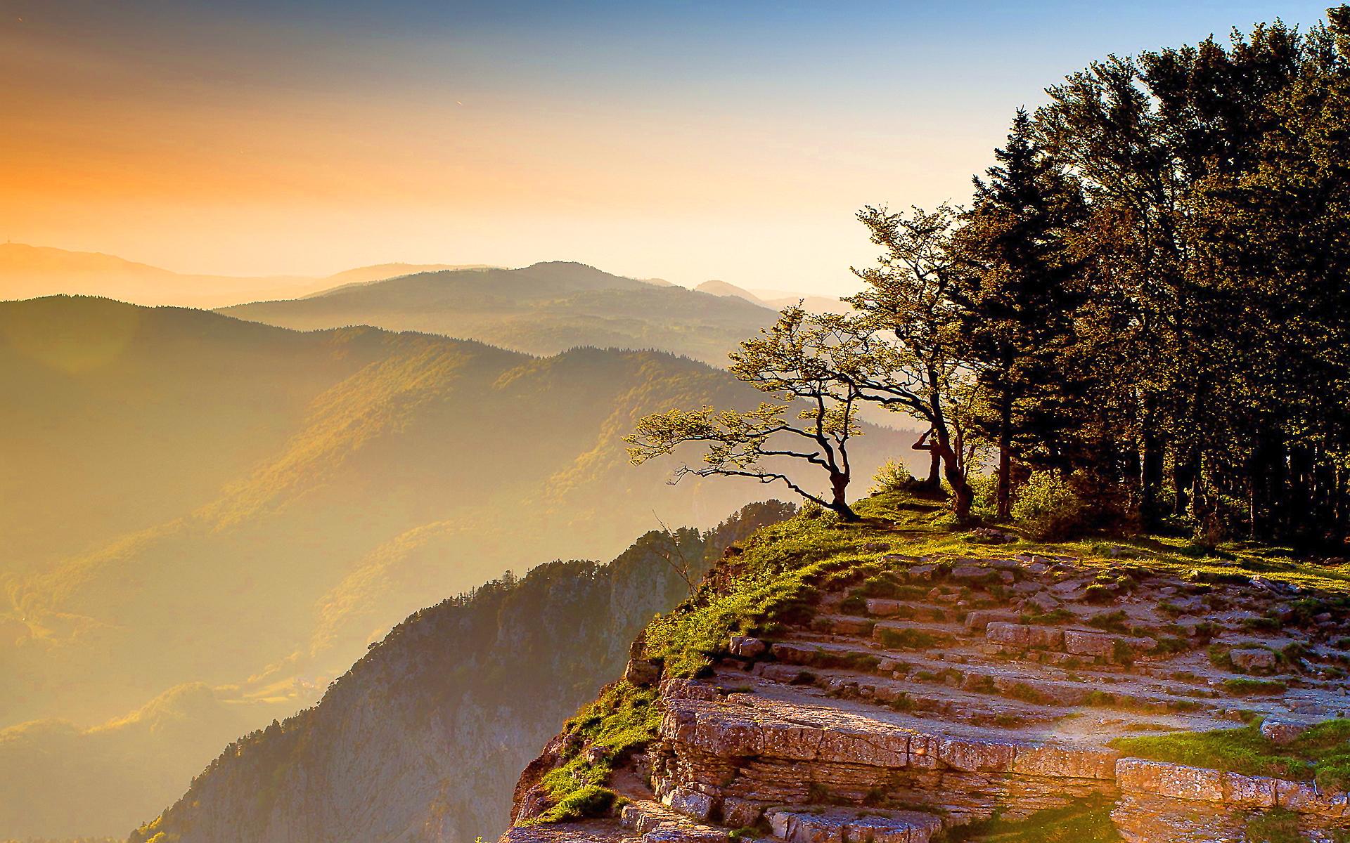sunset images mountain - HD Desktop Wallpapers | 4k HD