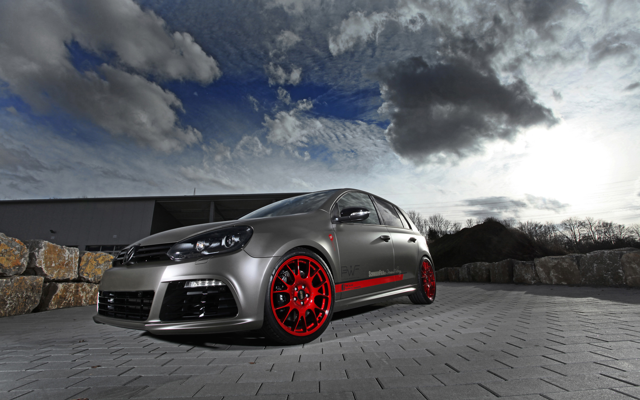 volkswagen golf r hd desktop wallpapers 4k hd. Black Bedroom Furniture Sets. Home Design Ideas