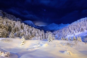 winter mountain pictures