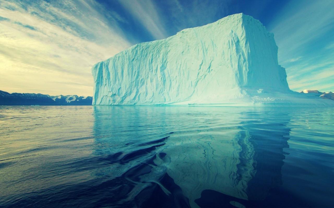 arctic wallpaper iceberg