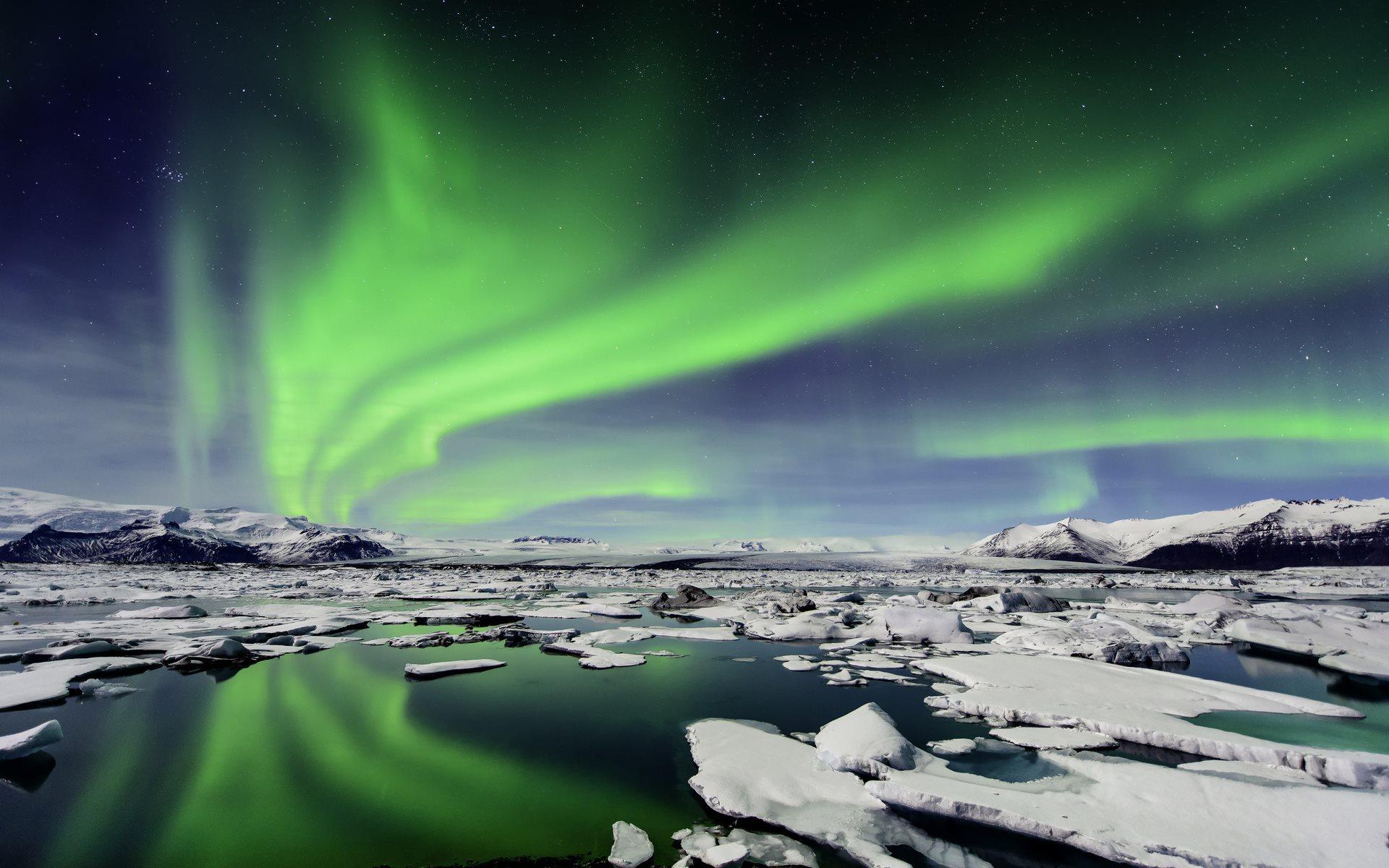 aurora borealis wallpaper free