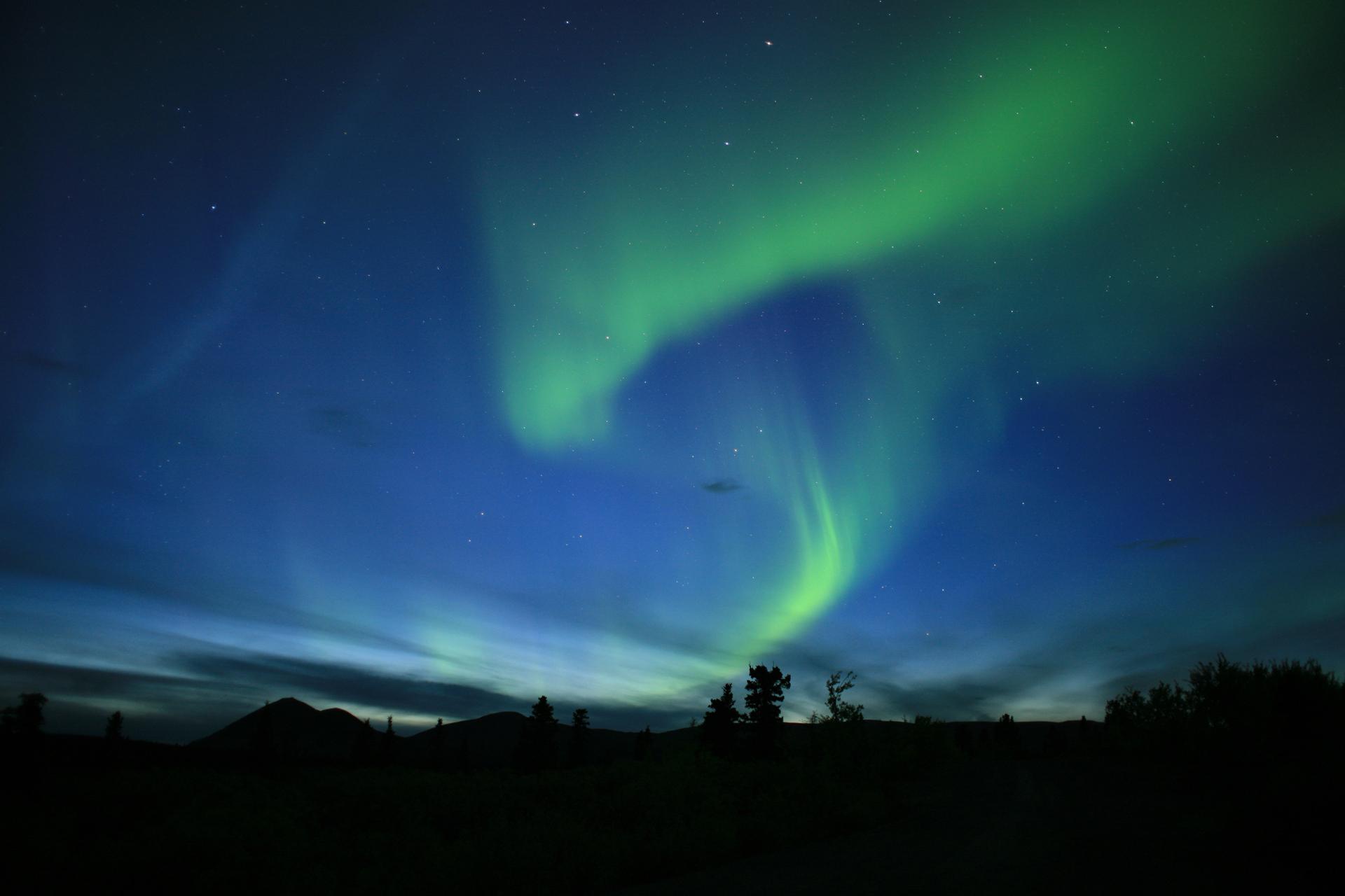 aurora wallpaper pc