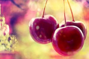 cherries fruits