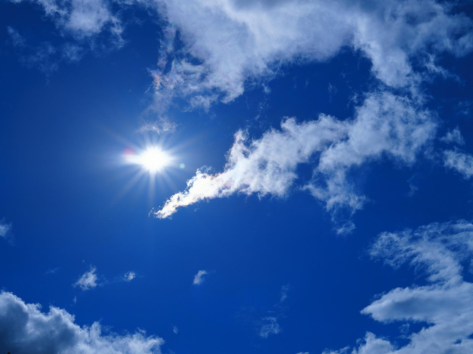cloud sunshine wallpaper