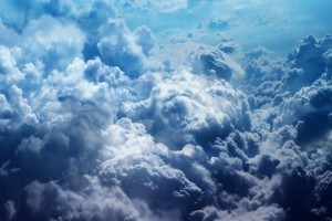 cloud wallpaper dark blue