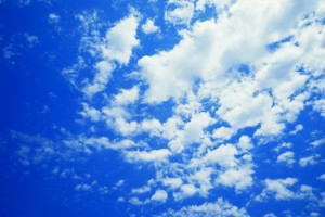 clouds pictures blue
