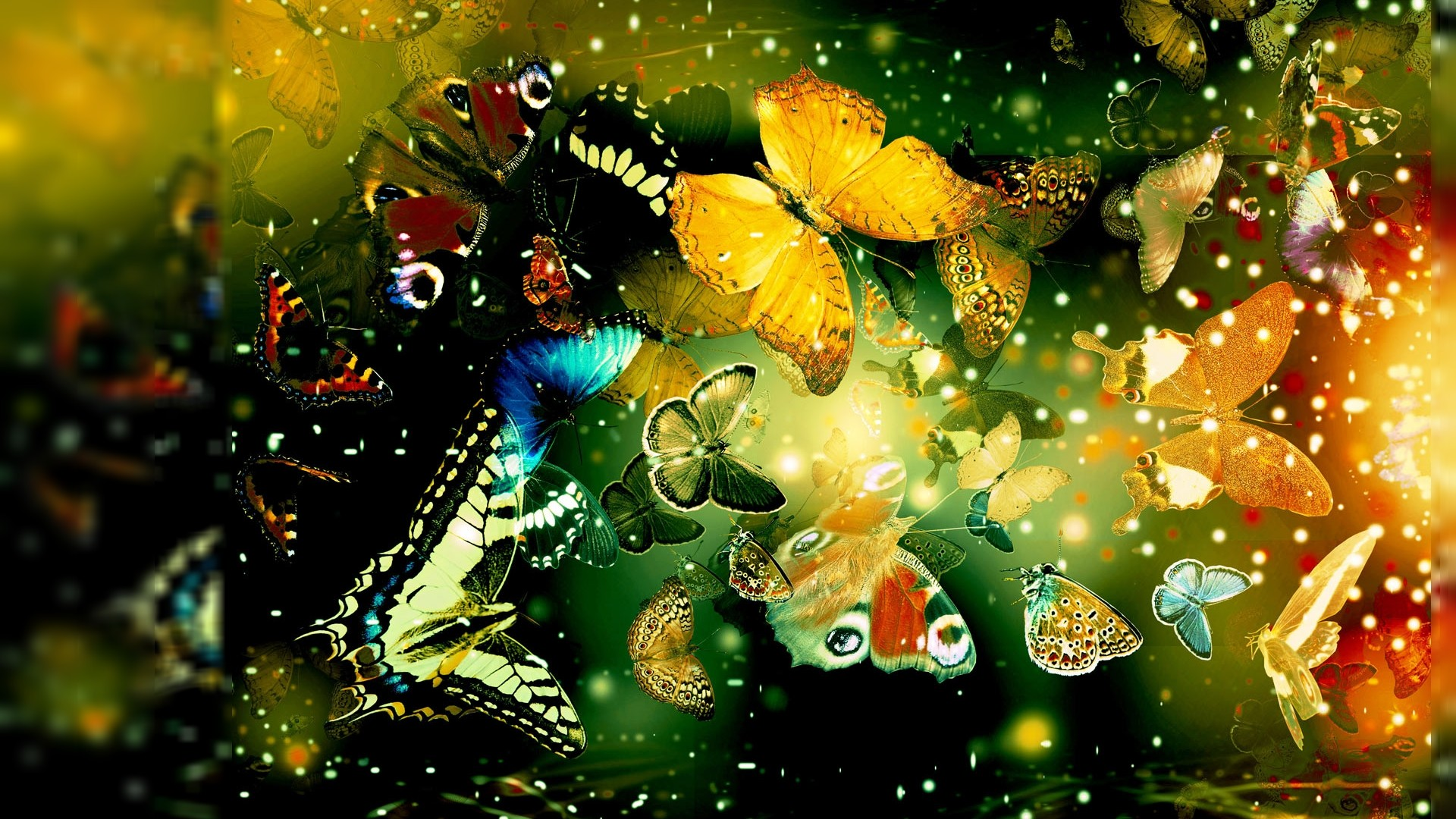 cool abstract 3d butterfly