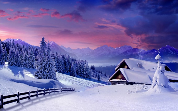 free wallpaper winter