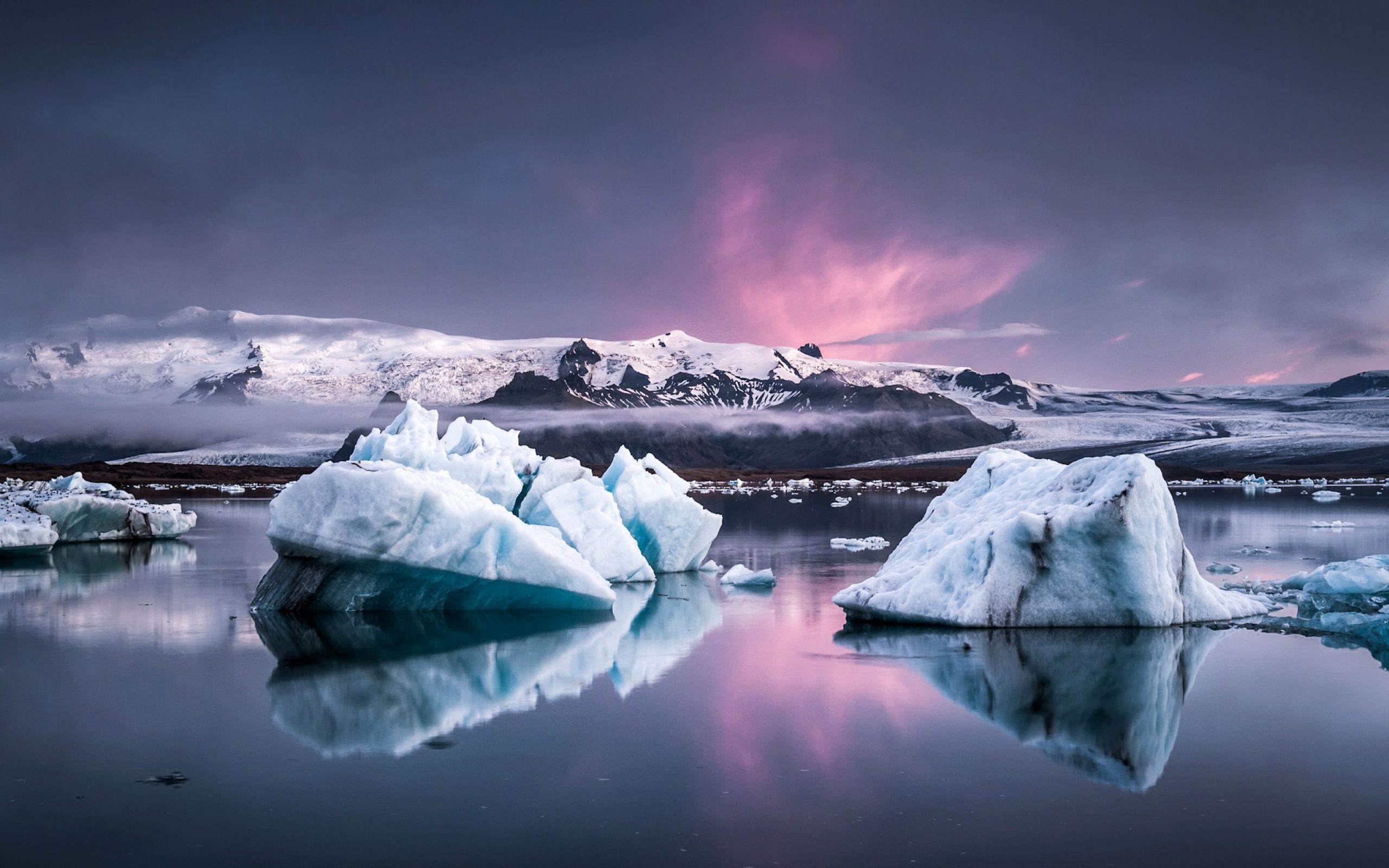 glacier wallpaper hd