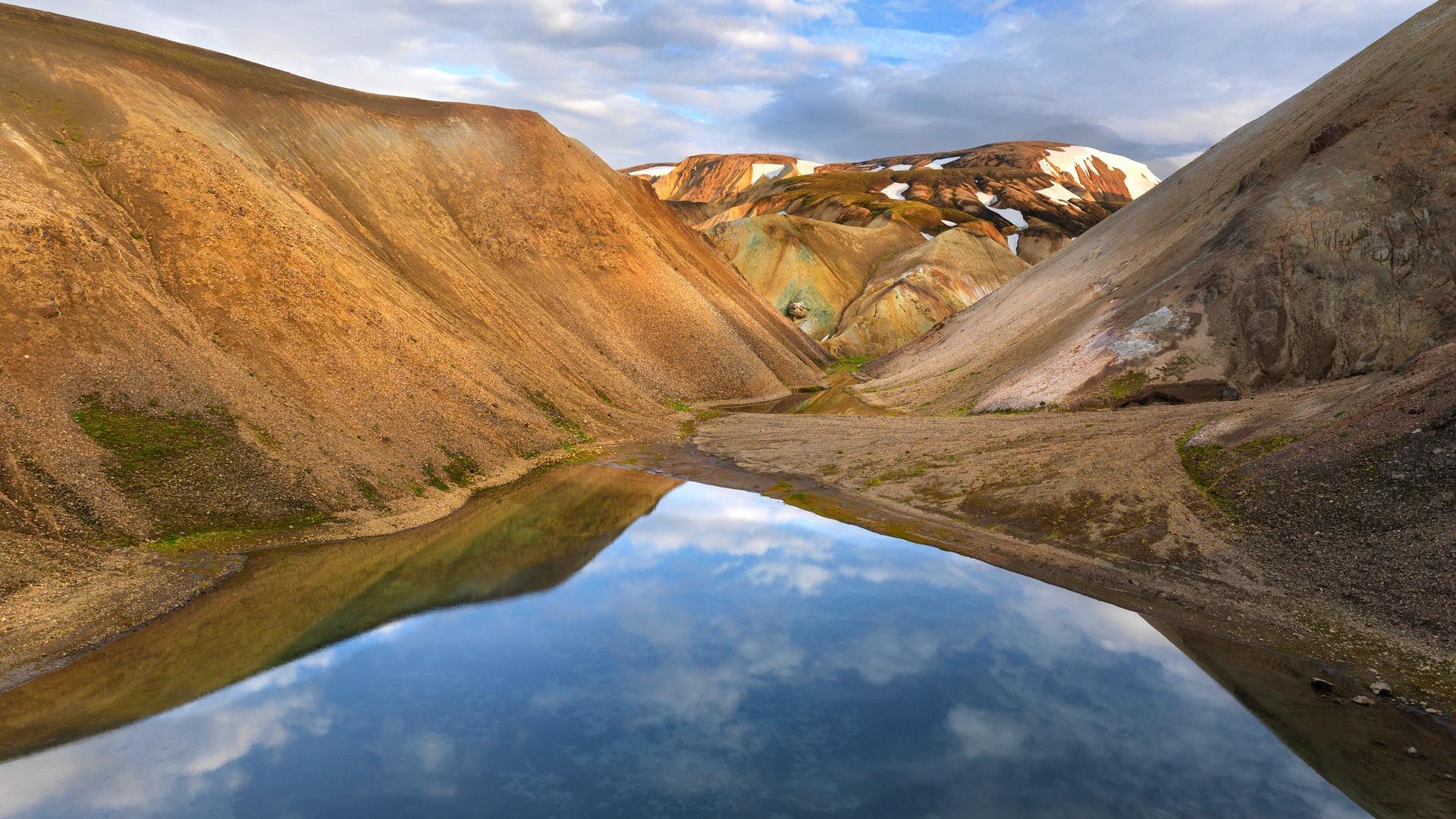 iceland wallpaper mountains