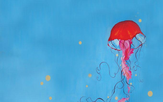 jellyfish hd wallpaper