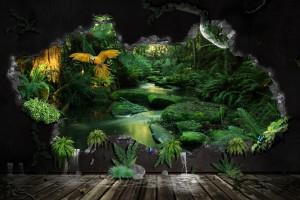 jungle wallpaper A2