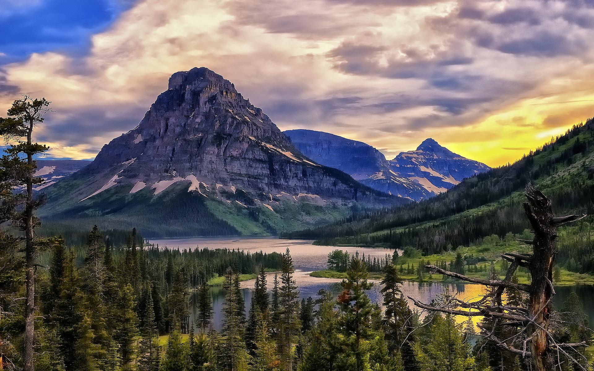 lake glacier park
