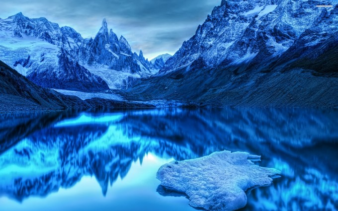 lake wallpaper snow winter