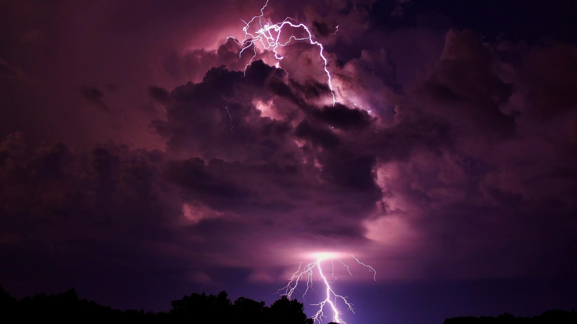 lightning background