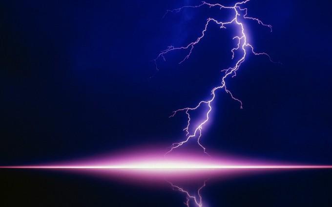 lightning wallpaper desktop