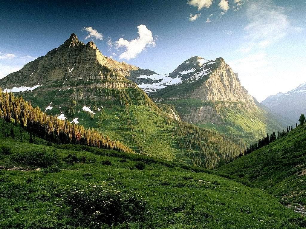 mountain background hills
