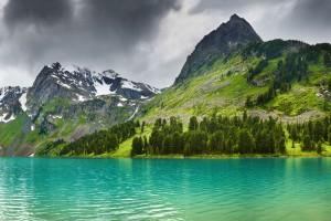mountain wallpaper lake hd
