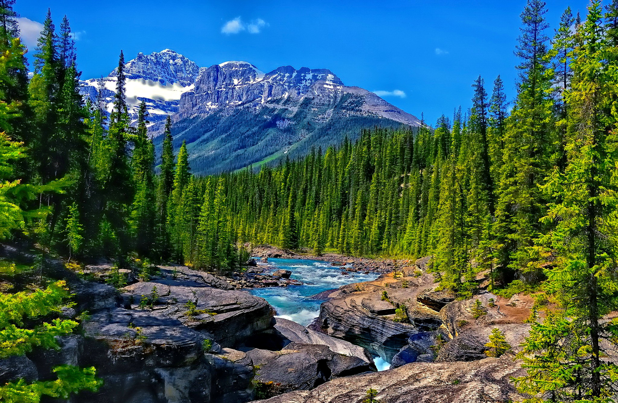 mountain wallpaper stream