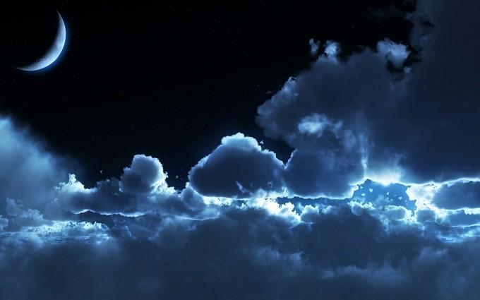 night sky wallpaper cute