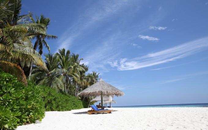 paradise beach - HD Desktop Wallpapers   4k HD