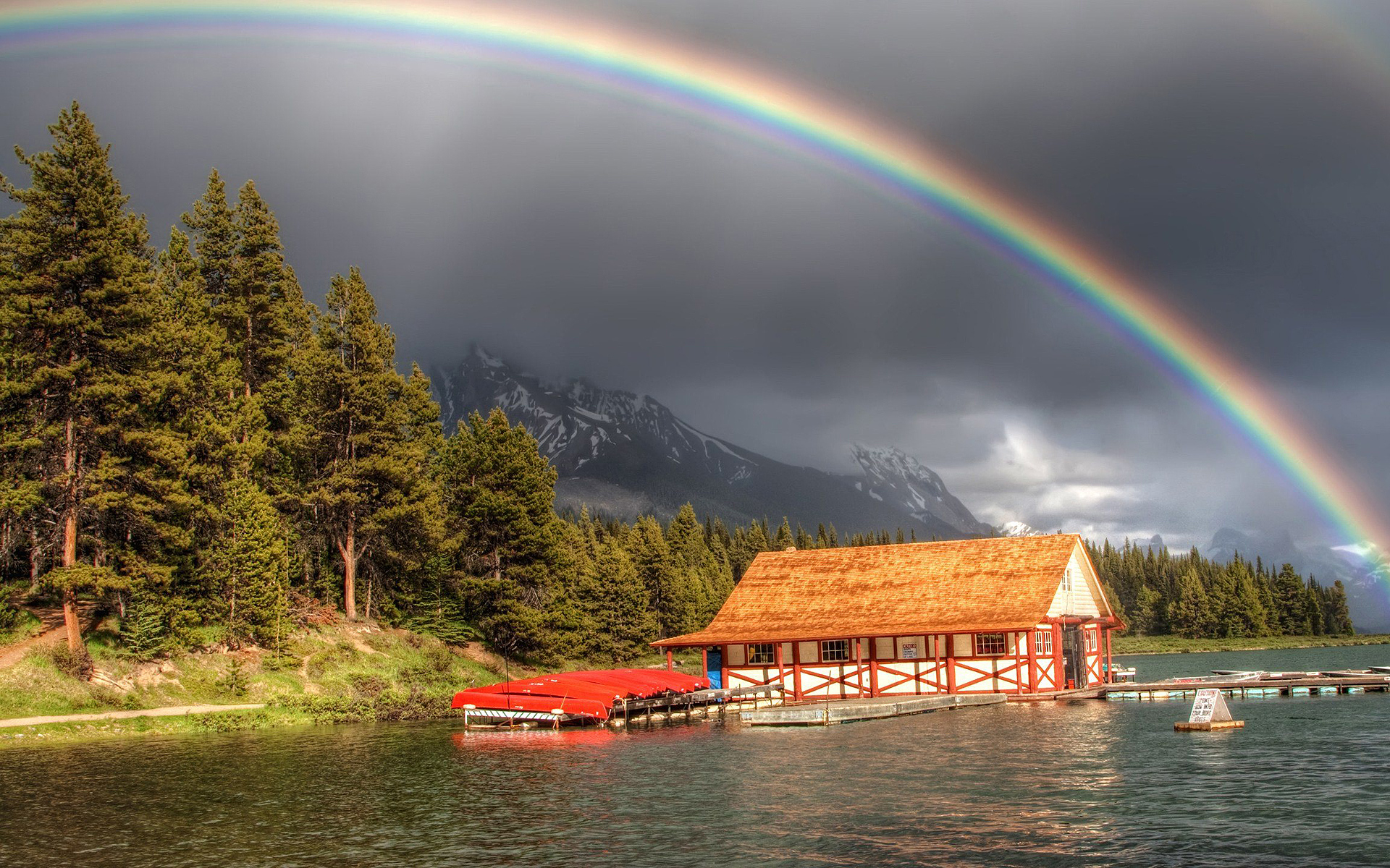 rainbow lake hd