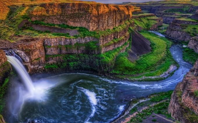 river wallpaper mountains