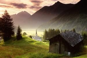 scenic wallpaper countryside