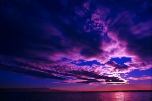 scenic wallpaper purple