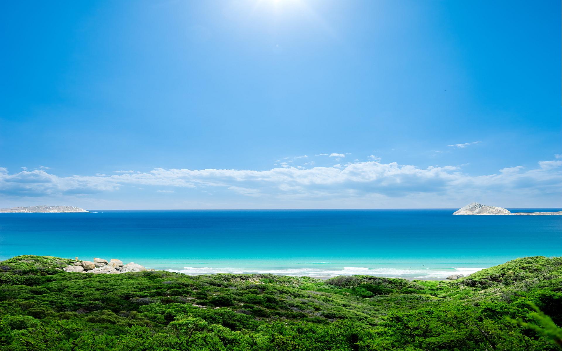 Sea Coastal Beach Hd Desktop Wallpapers 4k Hd