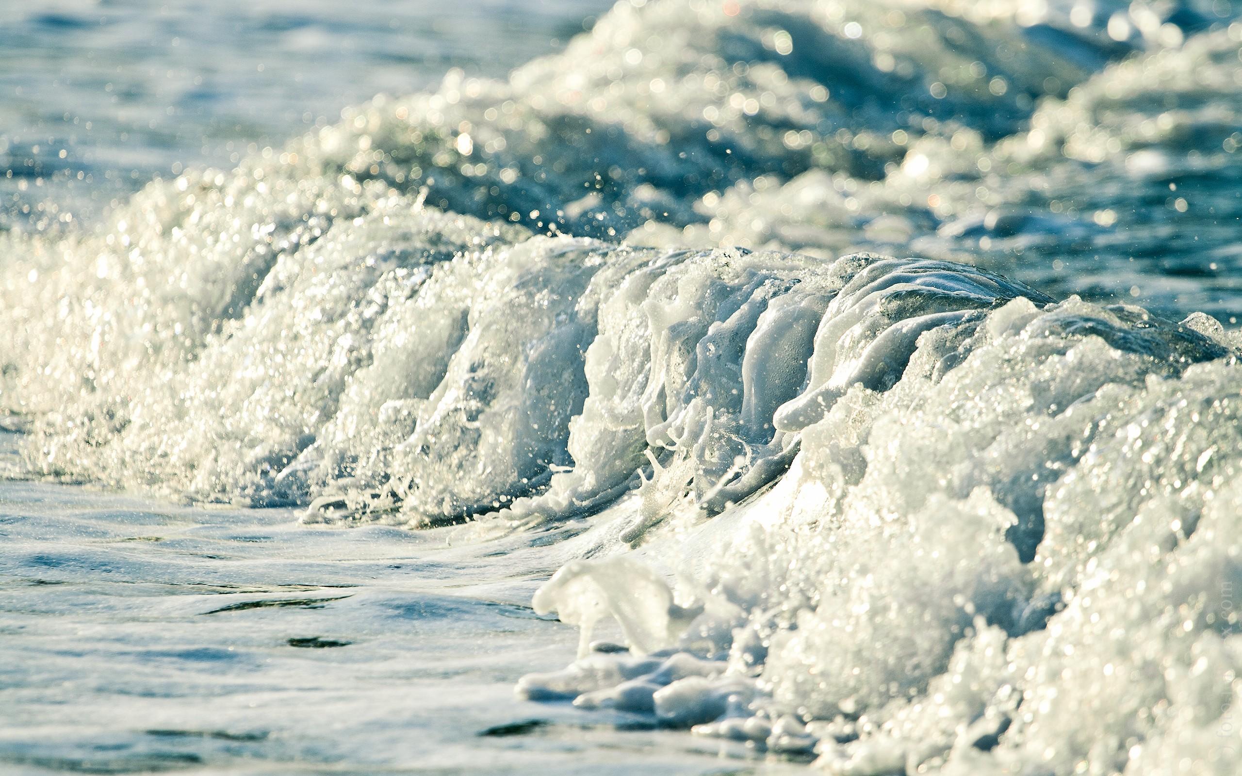 sea foam wave