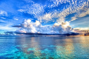 sea pictures clouds