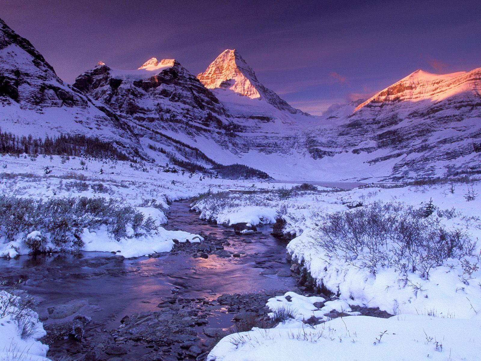 snow mountain wallpaper
