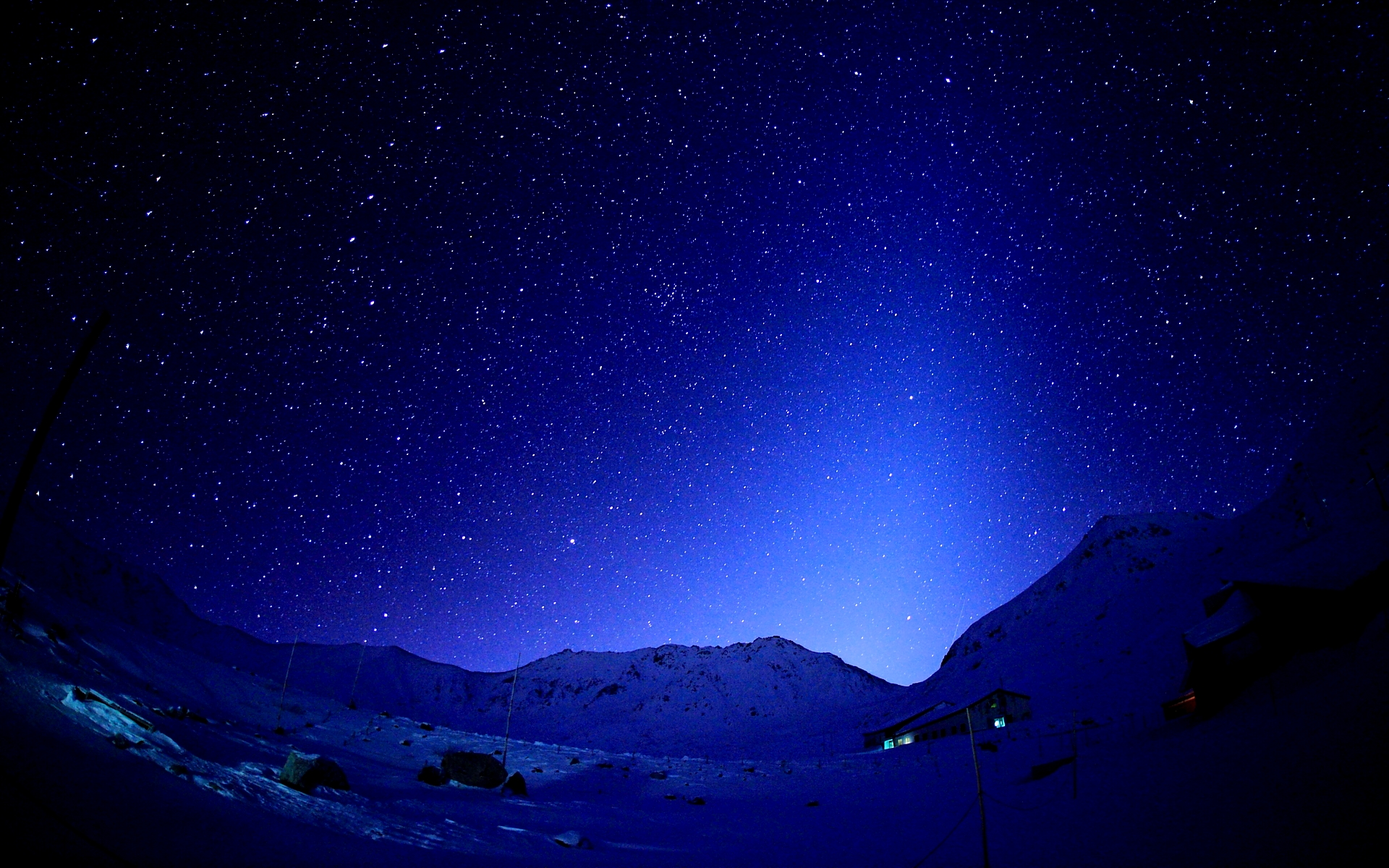 Starry Sky Wallpaper  HD Desktop Wallpapers 4k
