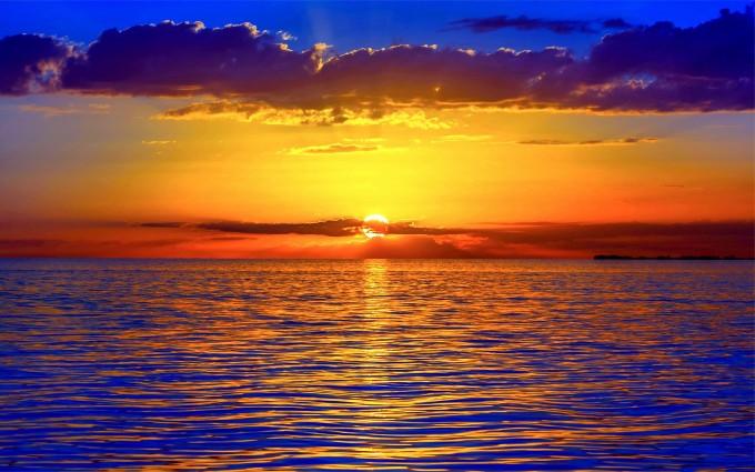sunset images beach