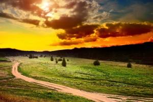 sunset pictures landscape