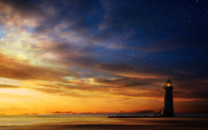 sunset pictures lighthouse