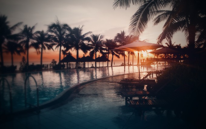 sunset pictures resort