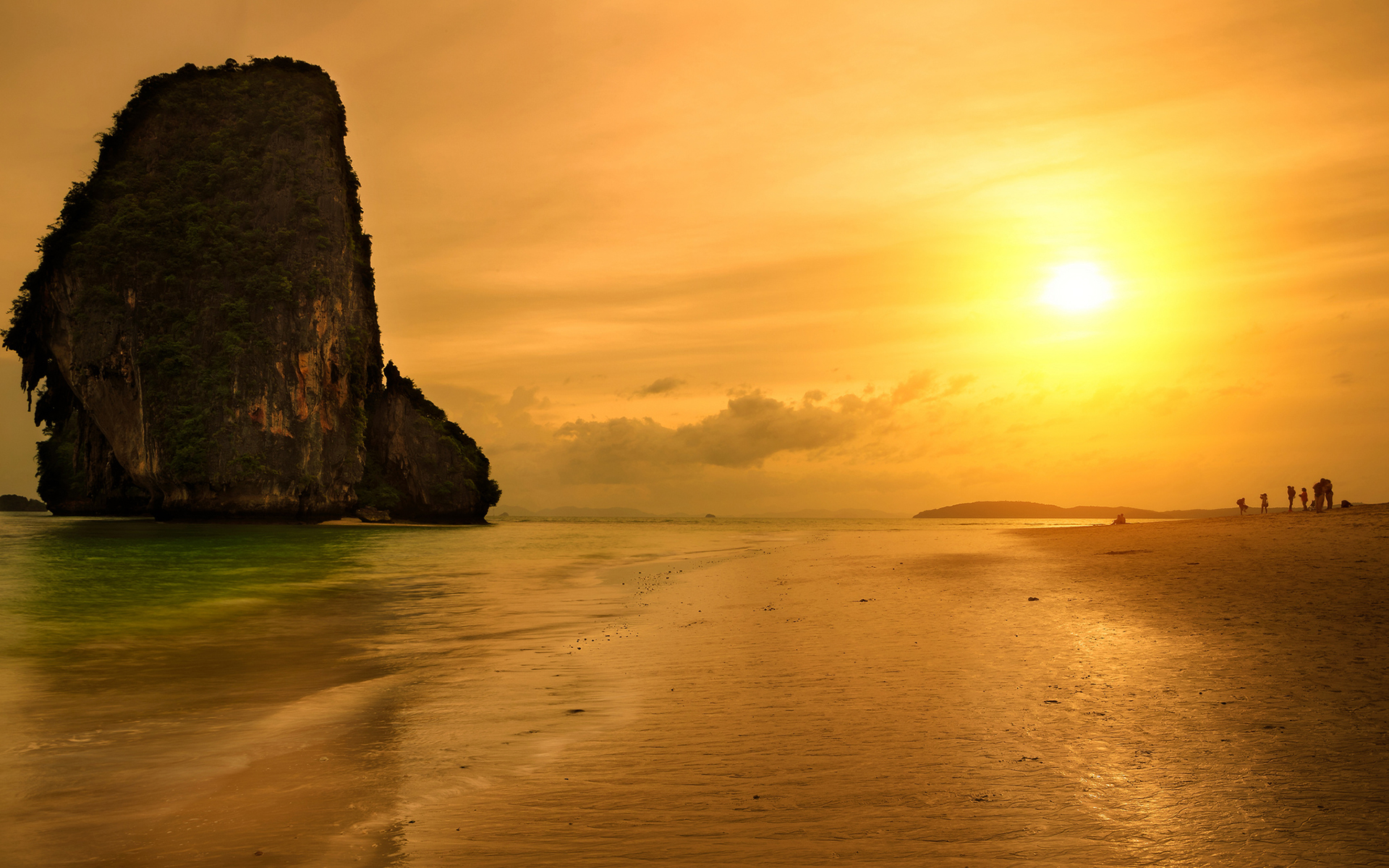 sunset pictures thailand