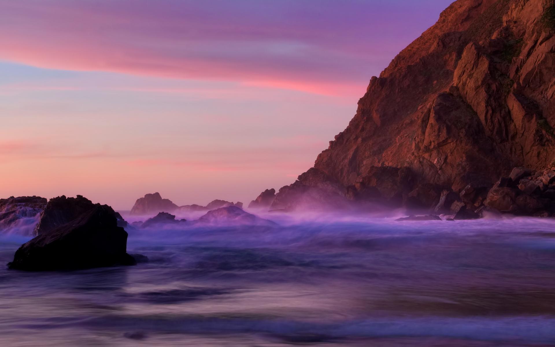 sunset wallpapers purple nice