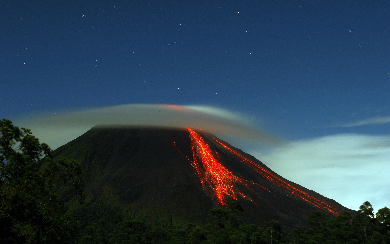 volcano wallpaper lava hd