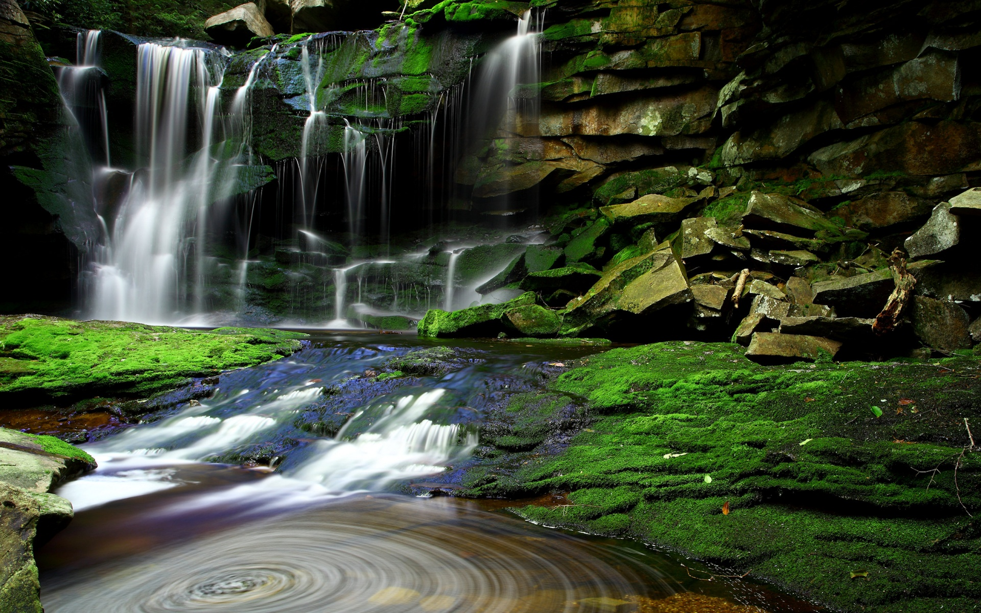 wallpapers of waterfall