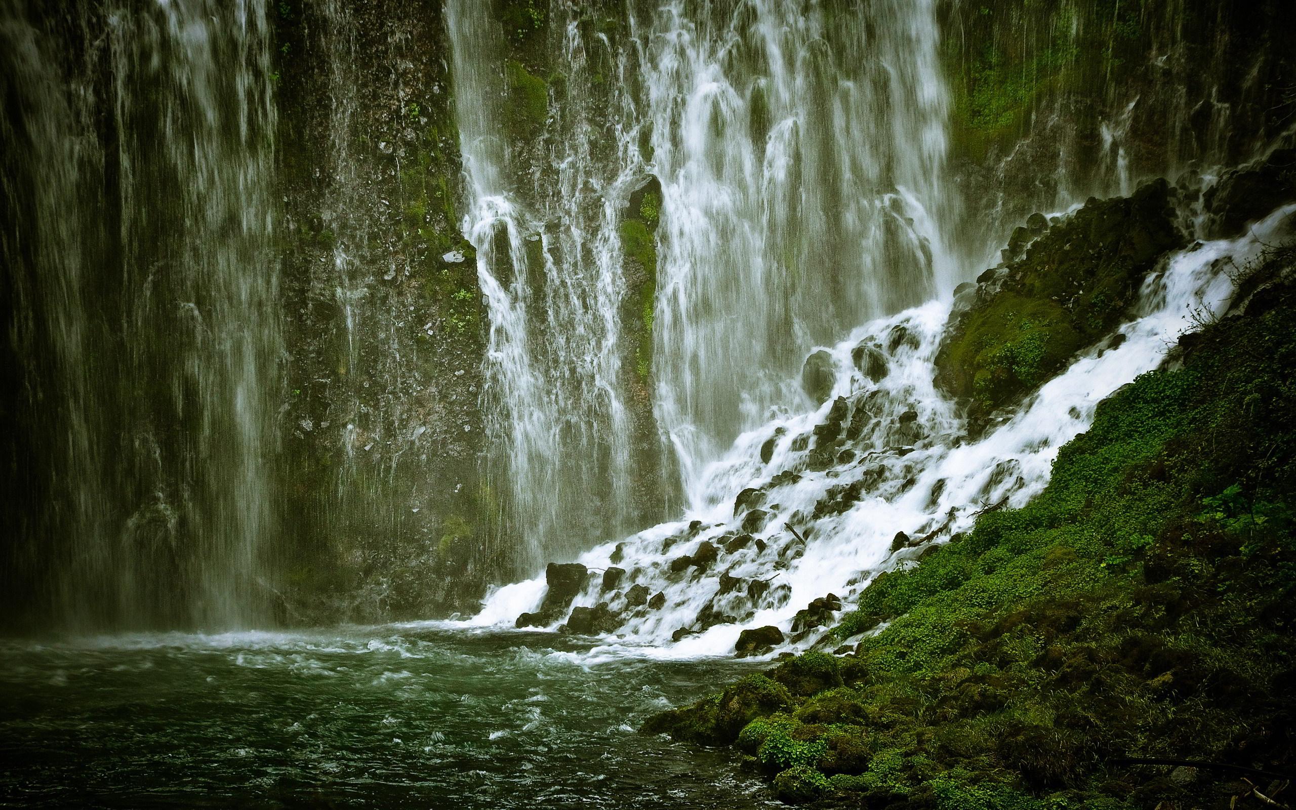 waterfall background nice